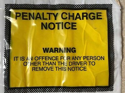 Penalty Charge Notice Wallets Genuine Ideal For Pranks And Jokes