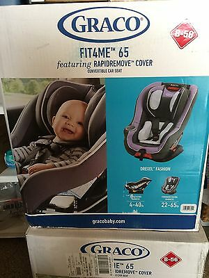 Graco Fit4Me 65 Convertible Car Seat Drexel Brand New Sealed