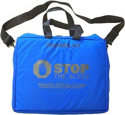Royal Blue Stop the Bleed Training Bag - Empty