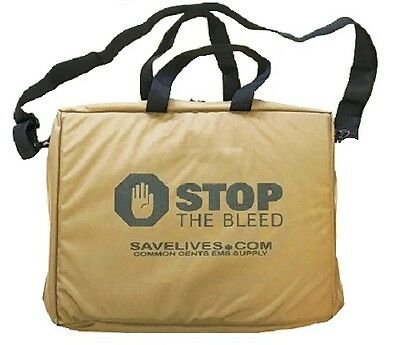 Coyote Brown Stop the Bleed Kit Bag - Empty