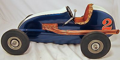 Tether Car Original Rare Dooling F Car Beautiful Gulf Oil Special Pusher