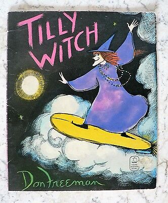 Tilly Witch by Don Freeman 1975 PB Halloween