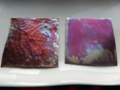 Irridescent Red / Purple Patina Solution for Copper, Brass or Bronze, 15/30/45ml