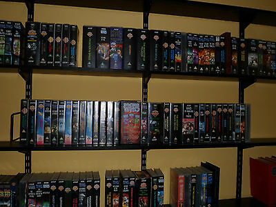 Doctor Who VHS Video Tapes UK PAL. Hartnell, Troughton, Pertwee and Tom Baker,