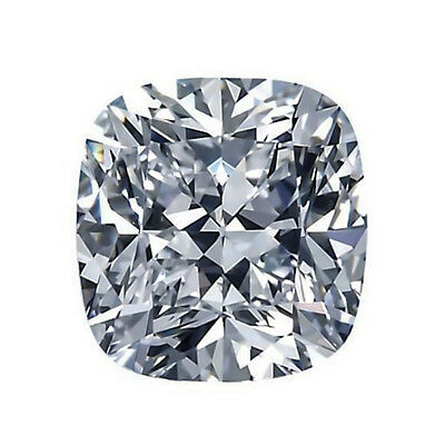 2.04ct ct 8mm Cushion Synthetic stone! Best Diamond & Moissanite substitute!
