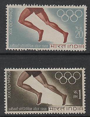 XG-B348 INDIA IND - Olympic Games, 1968 Mexico '68 MNH Set