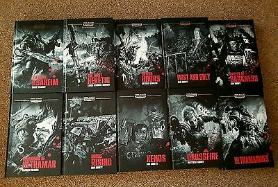 Warhammer 40k Legends Collection Books 1 to 10 Subscription Only Games Workshop