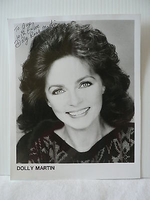 DOLLY READ MARTIN  American Actress  *  AUTOGRAPH SIGNED PHOTO 8  X 10
