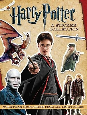 Harry Potter A Sticker Collection Fan Collectible Stickers All Films Paperback