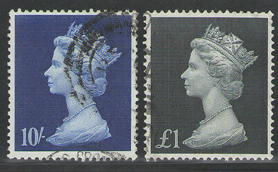 High Value Definitives  1969   SG 789-790   Very Fine Used