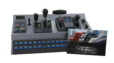 Train Simulation Controller RailDriver Desktop Cab Trainz Locomotive Control USB