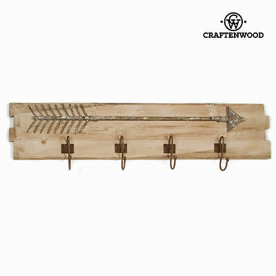 Percha pared flecha by Craftenwood S0100646