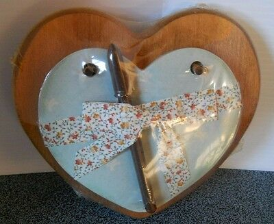 Pretty Paper Small Heart Plaque With Pen New Never Been Used Cherryville, NC