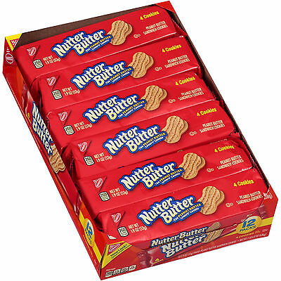 Nutter Butter american Biscuits  12 x 53g packets