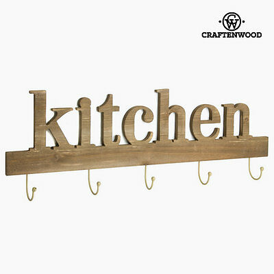 Percha 5 pomos kitchen by Craftenwood S0103450