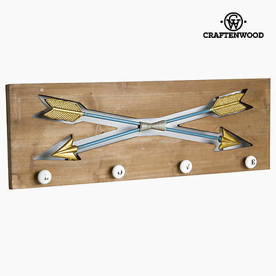 Percha de pared  flechas by Craftenwood S0103496
