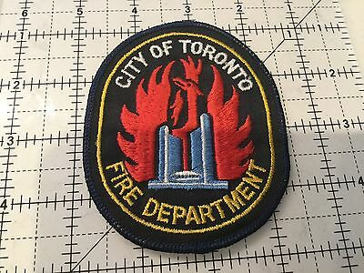 Canada Ontario Patch Toronto Fire Department