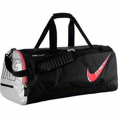 Brand New Nike Tech Court Tennis Duffle Bag BA4889-005 Black/Metallic Silver