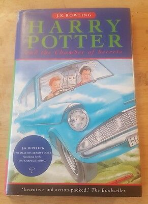 Harry Potter and the Chamber of Secrets by J. K Rowling 2005 Hardcover/Sleeve