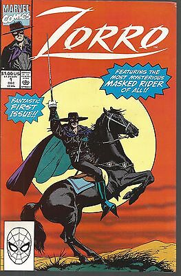 Zorro #1 (Dec 1990, Marvel) f63