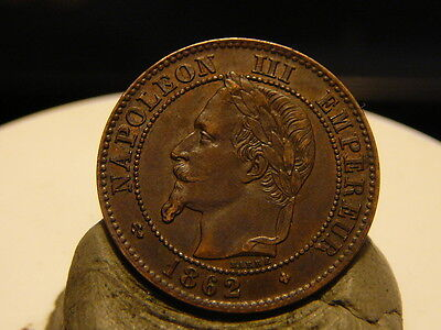 2Cl(63) - 2 Centimes - Napoleon Iii - 1862 Bb - Grands Bb - Qualite Sup !