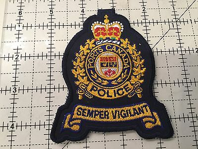 Canada Ports Police Patch #4