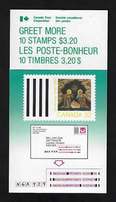 Canada Stamps - Booklet Pane of 10 - Christmas (Icons): Nativity #1225a (BK99)