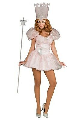 Wizard of Oz Glinda The Good Witch Sexy Deluxe Costume, X-Small