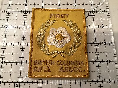 Canada British Columbia Rifle Association First Place Patch