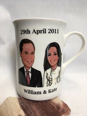 Prince William & Kate Middleton Commemorative Marriage Wedding Marriage Cup Mug