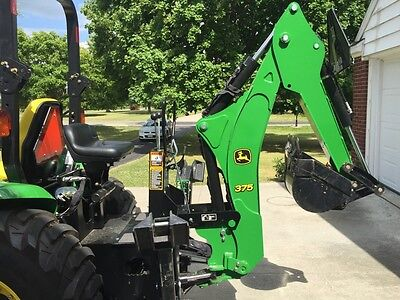 John Deere Backhoe Attachment >> John Deere 375 Backhoe Attachment Fits 3120 3320 3520 3720 Or