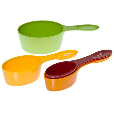 NEW Progressive Snap Fit Measuring Cup Set 4pce