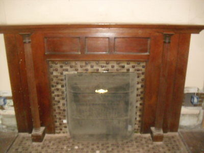 Fireplace mantel 1895