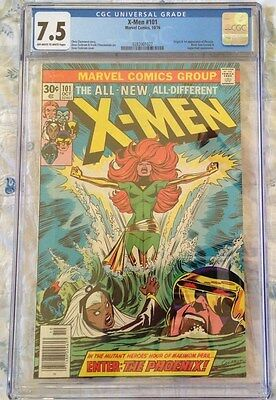 Uncanny X-Men 101--CGC 7.5--First appearance of Phoenix!