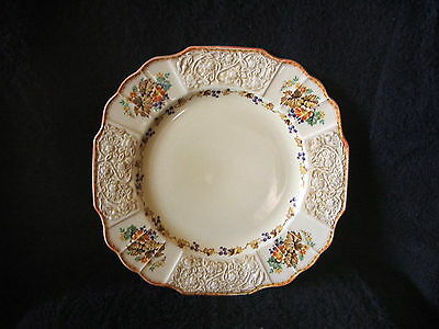 Vintage Art Deco Myott Staffordshire Dinner Plate x 1 Made in England FH 2909 #1