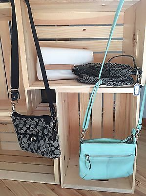 lot of 4 purses coach and evan picone