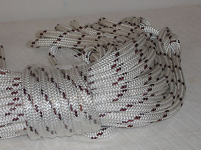 """9/16"""" x 150 ft. Double Braid Polyester halyard line yacht   Made in USA"""