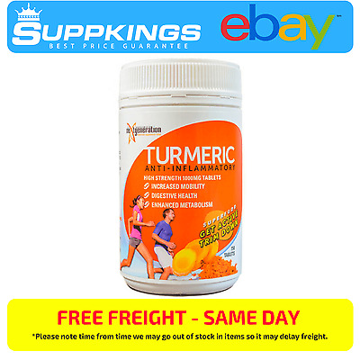 Tumeric 1000Mg 150 Tablets // Pure Tumeric Tablets Buy Bulk And Save $$$$
