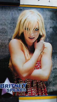 BRITNEY SPEARS arms crossed MEXICO STREET poster, near mint