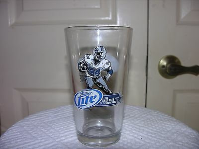 Dallas Cowboys NFL Miller Lite Pint Beer Glass