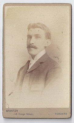 Dominick Merrick - young man with great moustache - by Stanton of Toronto, ON