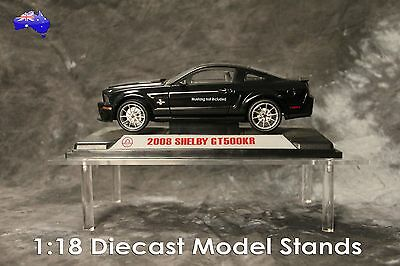 Acrylic Display Stand Single Tier; Collectable; Car; Vintage; Diecast model cars