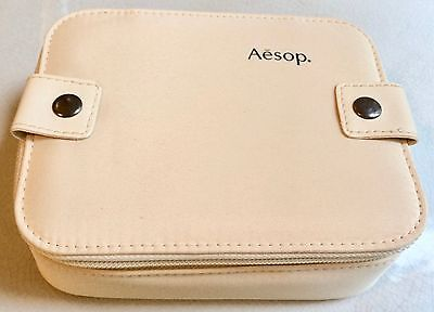Aesop London Cathay Pacific 1St Class Ivory Travel Case