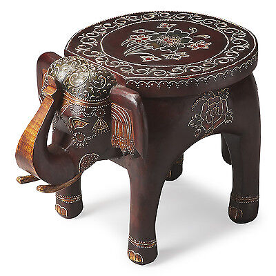 AFRICAN ELEPHANT TRUNK PEDESTAL Plant Stand Table Architectural Display Safari