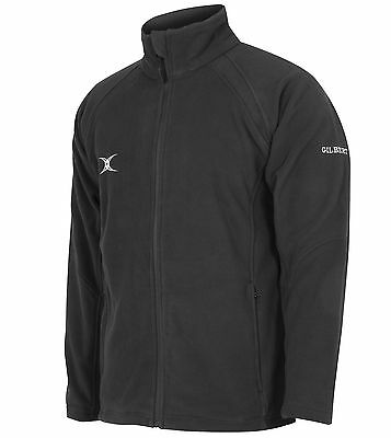 Clearance Line Brand New Gilbert Rugby Mercury Fleece Black - Various Sizes
