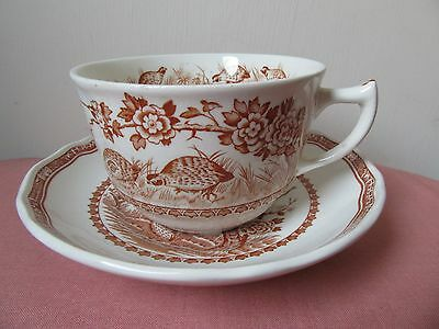 Furnival's Quail cup and saucer