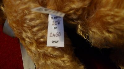 merrythought collectors bear mohair jointed