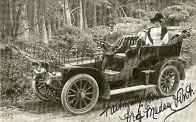 RA558 Early RP POSTCARD - Panhard et Levassor Vintage Car/Voiture Ancienne