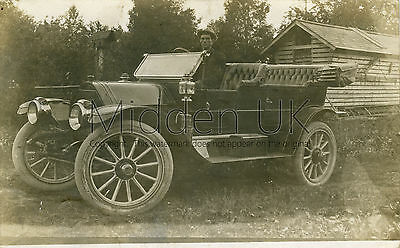 RA277 Early RP POSTCARD - Maxwell Vintage Car - Posted 1912