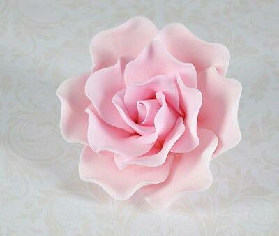 3 Large Roses Sugar flower wedding birthday cake decoration topper craft